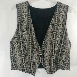 Vintage Fully Lined Women's Vest Size 10